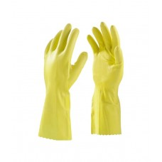 Dhandistribuer Yellow Non Leather Summer Safety Gloves For Women