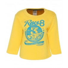 ttle Kangaroo Full Sleeves Yellow Color Round Neck Regular Fit Pants For Kids